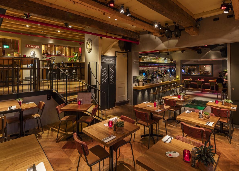 Foto 39 s de beurs caf restaurant zalen for Cafe de poort utrecht
